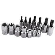 Craftsman 14 pc. Easy to Read Torx Bit Set, 1/4 and 3/8 in. Drives at Craftsman.com