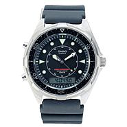 Casio Mens Sport Calendar Day Watch with Black Dial and Black Band at Sears.com