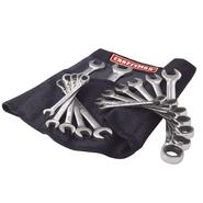 Craftsman 14 pc. Full Polish Reversible Ratcheting Comb. Wrench Set w/ Deluxe Roll Pouch at Sears.com