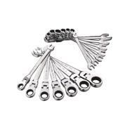 GearWrench Fully-Polished 14 pc. Flex Ratcheting Combination Wrench Set at Craftsman.com
