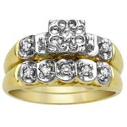 1/4 cttw Diamond Bridal Set at Sears.com