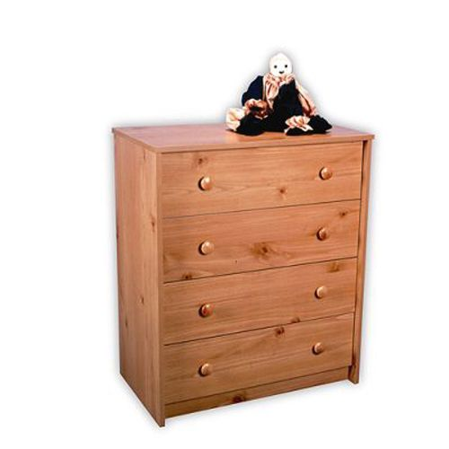 Belmont 4 Drawer Chest -  Pine