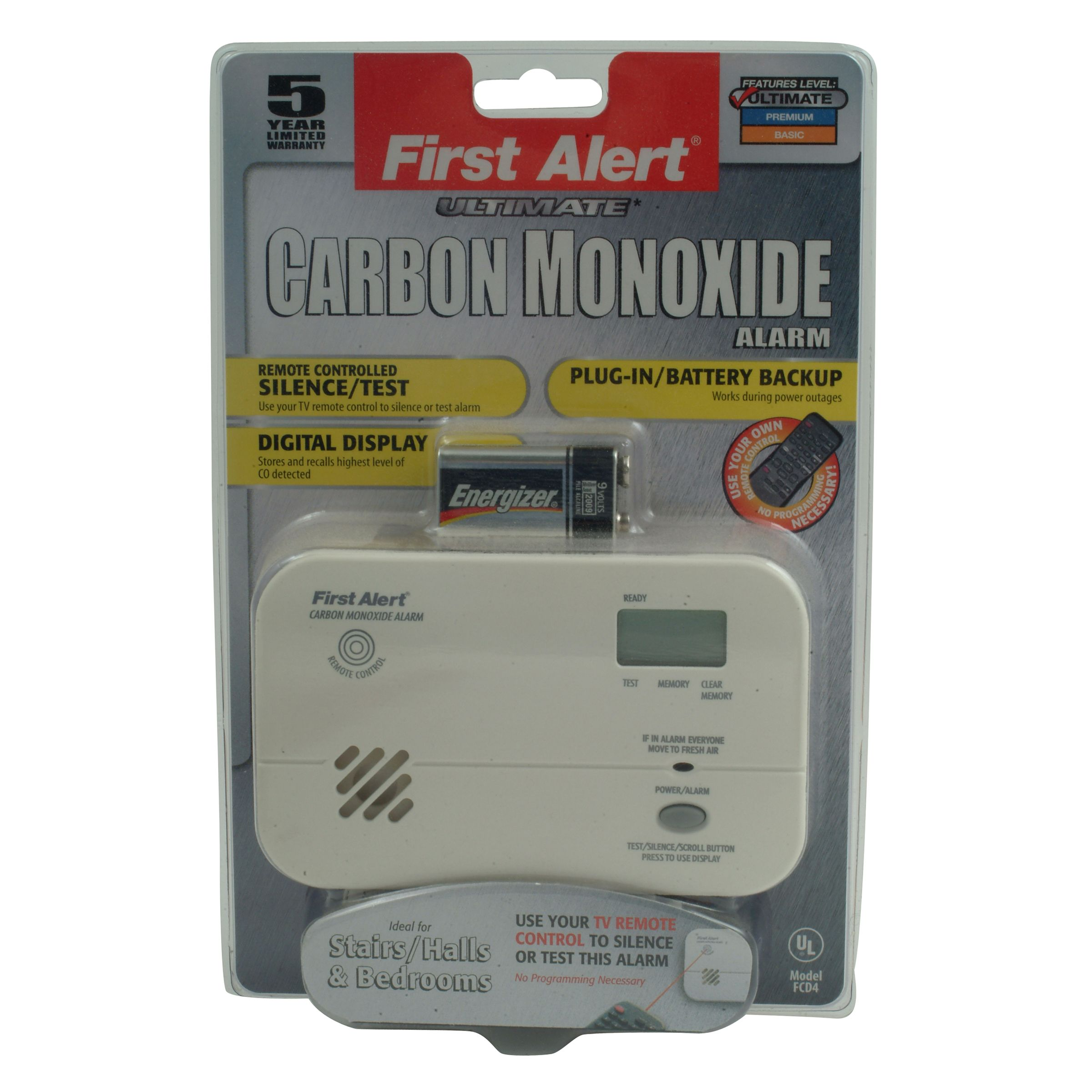Digital Carbon Monoxide Detector