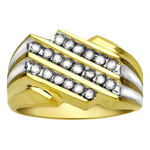 1/2 cttw Mens Diamond Ring