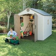 Lifetime 6405 Shed with Window (8 ft. x 10ft.) at Kmart.com