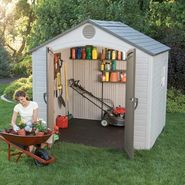 Lifetime 6411 Shed with Window (8 ft. x 7-1/2 ft.) at Kmart.com