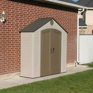 Lifetime 6413 Shed (8 ft. x 2-1/2 ft.) at Kmart.com