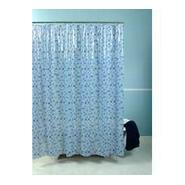 Essential Home Shower Curtain Spanish Tile Blue Vinyl at Kmart.com