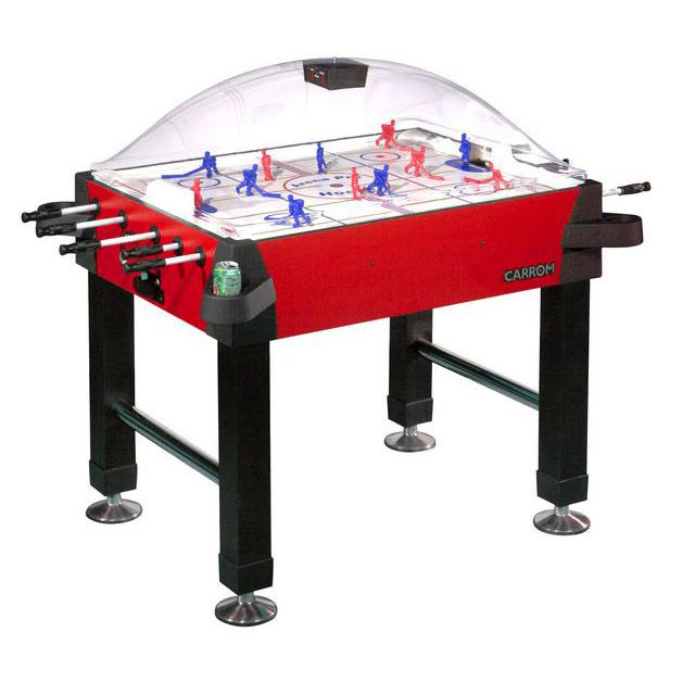 Carrom Signature Stick Hockey Table with Legs - Red PartNumber: 00623816000P KsnValue: 63579471 MfgPartNumber: 425.00