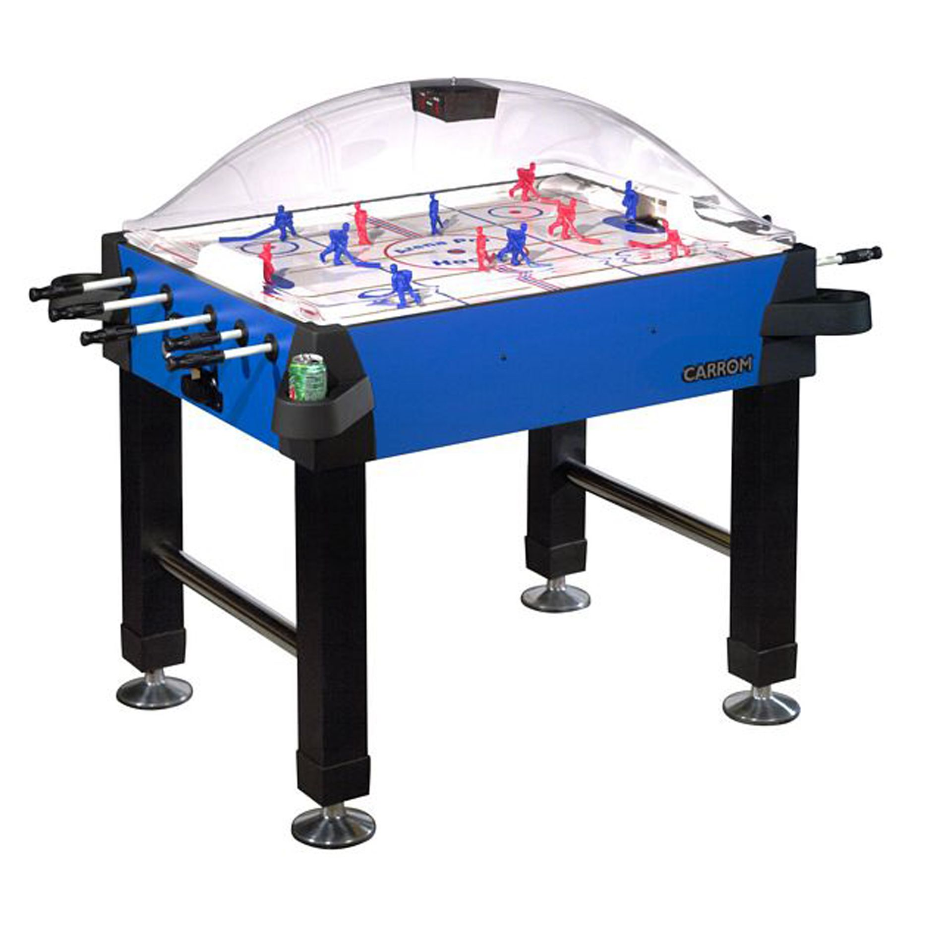Carrom Signature Stick Hockey Table with Legs - Blue PartNumber: 00623818000P KsnValue: 00623818000 MfgPartNumber: 435.00