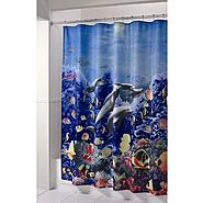 Essential Home Shower Curtain Dolphin Fabric at Kmart.com