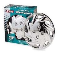 Kuan Tong Ind. Chrome Wheel Cover, 4-Pack at Kmart.com