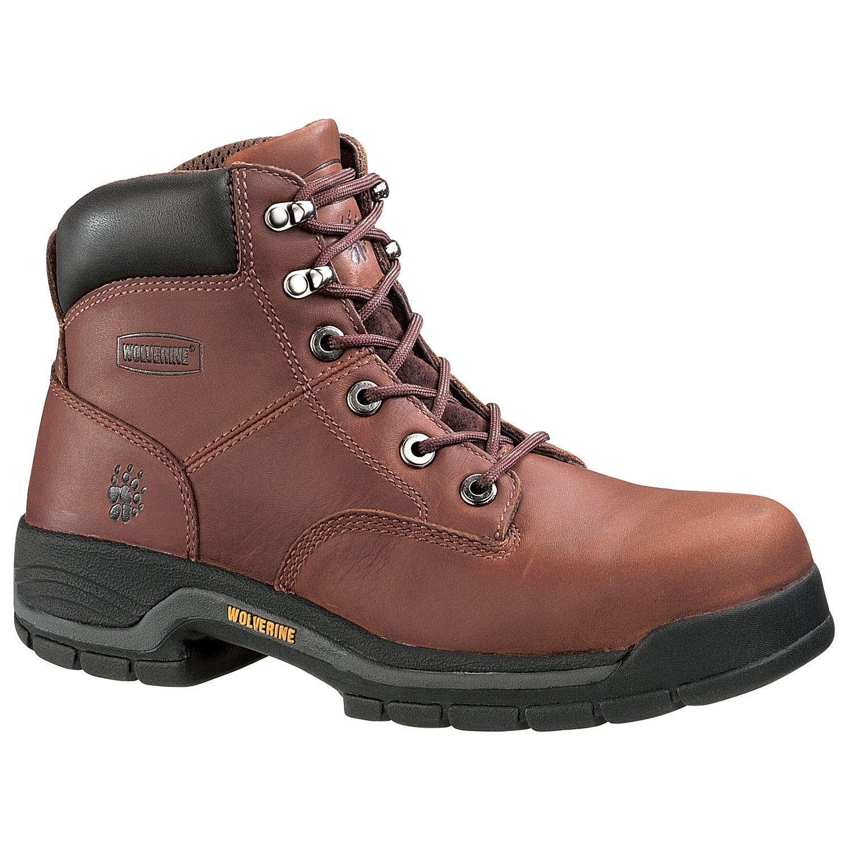 Wolverine Harrison 6 Inch Steel Toe Boot 4904