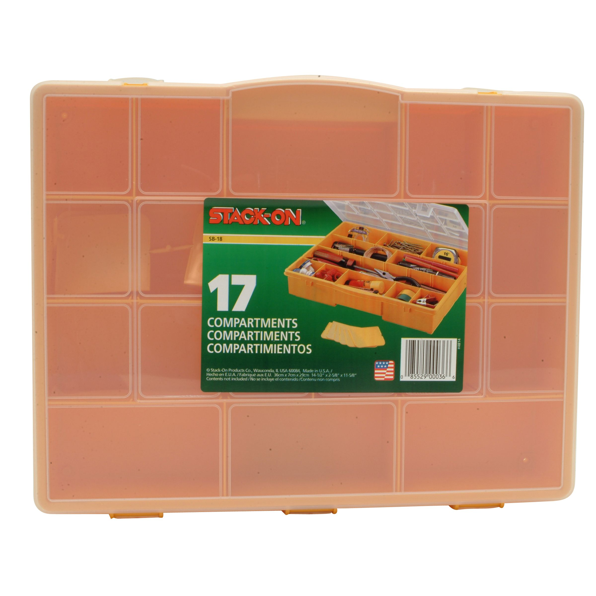 17 Compartment Storage Box