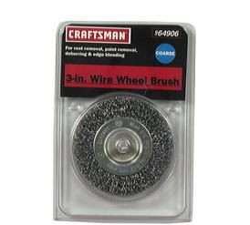 Craftsman  3 in. CRS Wire Brush