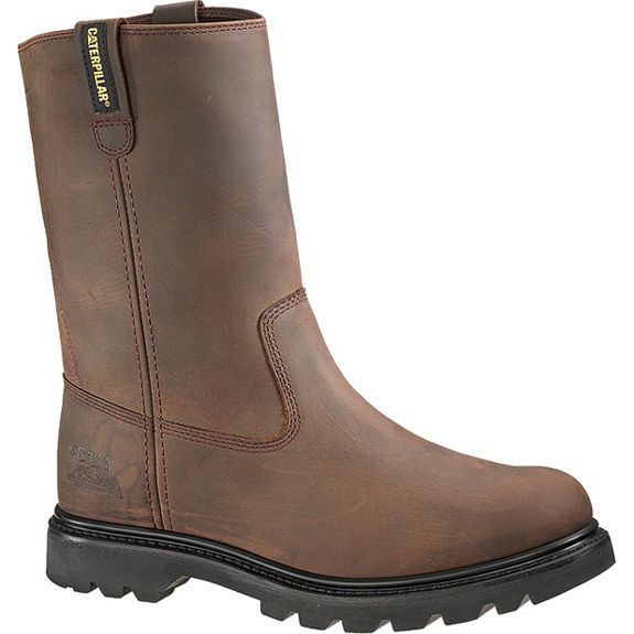 Cat Footwear  ® Men's Revolver Wellington Steel Toe Boot