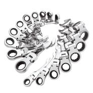 GearWrench 17 pc. Stubby Flex Combination Ratcheting Wrench Set at Craftsman.com