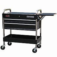 "Craftsman 43-1/2"" 2-Drawer Deluxe Mechanic Cart at Craftsman.com"