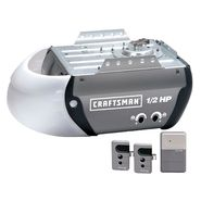 Craftsman 1/2 HP CHain Drive Garage Door Opener with Security+ Anti-Burglary Coding at Craftsman.com