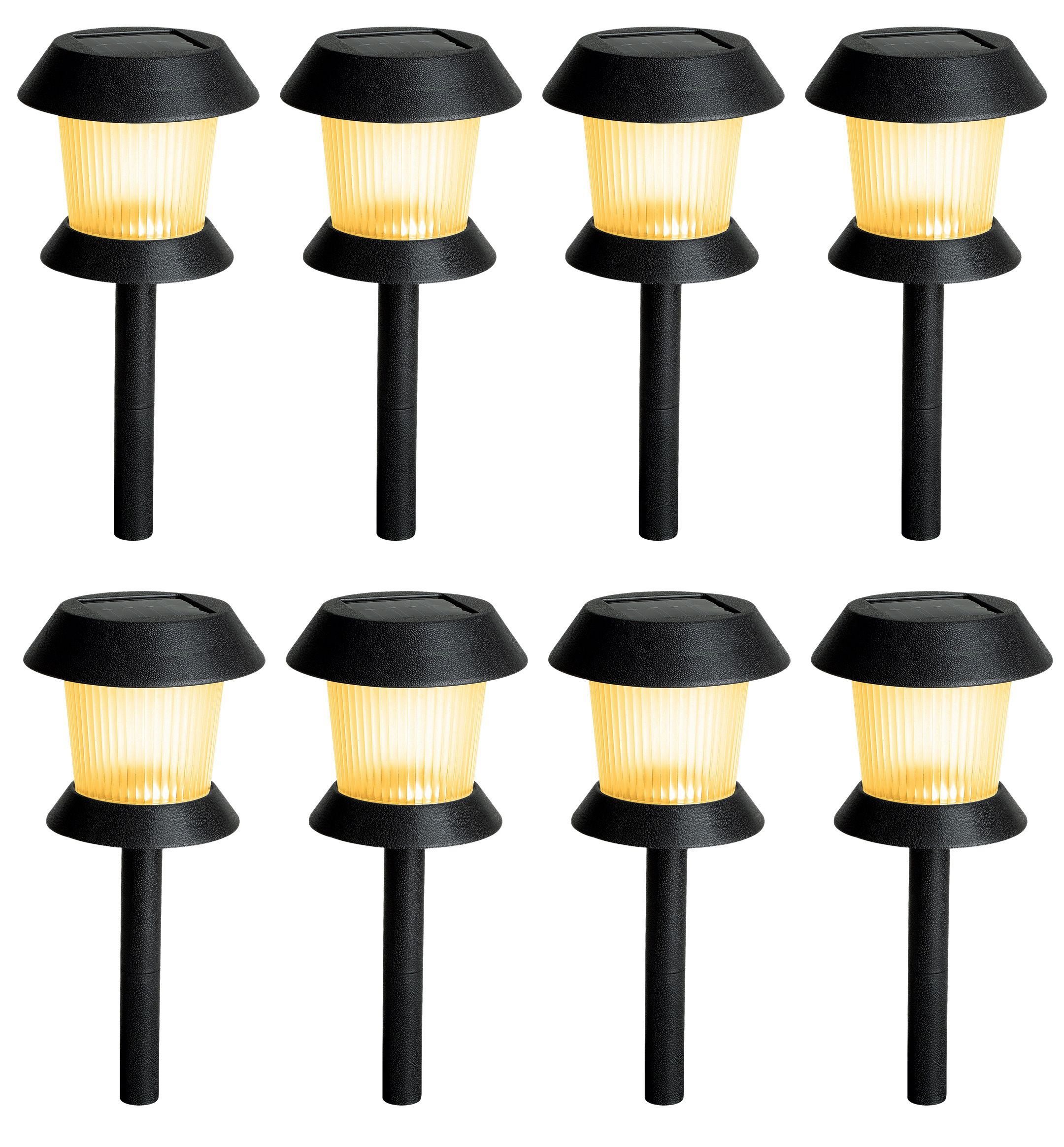 Westinghouse solar lights 8 pk outdoor living outdoor lighting pathway lighting - Westinghouse and living ...