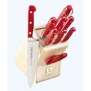Mundial 5100 Series Red Fully Forged Cutlery 10 Piece Block Set at Sears.com