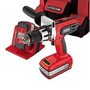 "Craftsman Professional 29015 20-volt Lithium-Ion Cordless 1/2"" Hammer Drill/Driver Kit at Craftsman.com"