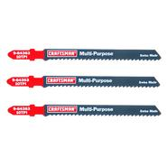 Craftsman 4 in. Jigsaw Blades, All Purpose, 10 TPI, 3 pk. at Craftsman.com