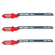 Craftsman 4 in. Jigsaw Blades, Wood, 14 TPI, 3 pk. at Sears.com