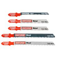 Craftsman 5 pc. Jigsaw Blade Set, T-Shank, Multi-Purpose at Sears.com