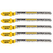 Craftsman Professional 3 in. 18TPI Bimetal Jigsaw Blades, 5 pk. at Craftsman.com