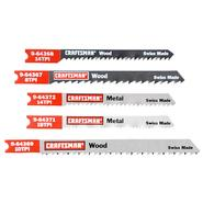 Craftsman 5 pc. Jigsaw Blade Set, U-Shank, Multi-Purpose at Sears.com