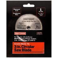 Craftsman 3 in. Diamond Grit Circular Saw Blade at Craftsman.com