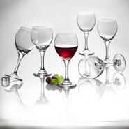 Essential Home Red Wine Glassware- 6pk at Kmart.com