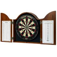 Viper Mahogany Finish Arched Top Dartboard Cabinet at Sears.com