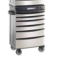 Craftsman AXS 27 in. 6-Drawer Roll-Away - Titanium at Sears.com