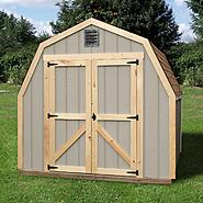 Quality Outdoor Structures T0808SV Wood Storage Shed (8 ft. x 8 ft.) - Professional Installation Included at Kmart.com