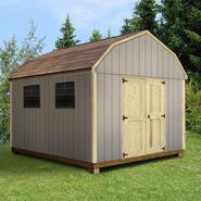 Quality Outdoor Structures T0812SB Smart Siding Barn (8 ft. x 12 ft.) - Professional Installation Included at Kmart.com