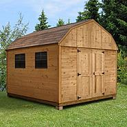 Quality Outdoor Structures C0812SB Cedar Barn (8 ft. x 12 ft.) - Professional Installation Included at Sears.com