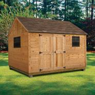 Quality Outdoor Structures C0812SC Cedar Cottage (8 ft. x 12 ft.) - Professional Installation Included at Kmart.com