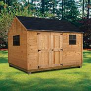 Quality Outdoor Structures C1012SC Cedar Cottage (10 ft. x 12 ft.) - Professional Installation Included at Sears.com