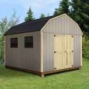 Quality Outdoor Structures T1012SB Smart Siding Barn (10 ft. x 12 ft.) - Professional Installation Included at Kmart.com