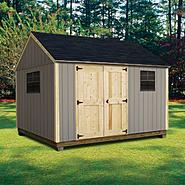 Quality Outdoor Structures T1012SC Smart Siding Cottage (10 ft. x 12 ft.) - Professional Installation Included at Kmart.com