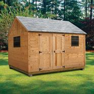 Quality Outdoor Structures C1216SC Cedar Cottage Professional (12 ft. x 16 ft.) Installation Included at Kmart.com