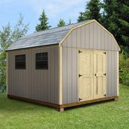 Quality Outdoor Structures T1216SB Smart Siding Barn (12 ft. x 16 ft.) - Professional Installation Included at Kmart.com
