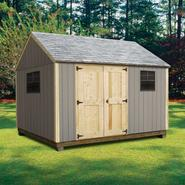Quality Outdoor Structures T1216SC Smart Siding Cottage (12 ft. x 16 ft.) - Professional Installation Included at Kmart.com