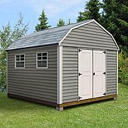 Quality Outdoor Structures V1216SB Vinyl Barn (12 ft. x 16 ft.) - Professional Installation Included at Kmart.com