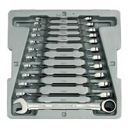 GearWrench 12 Pc Combination Ratcheting Wrench Set Metric at Craftsman.com