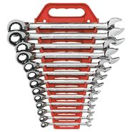GearWrench 13 Pc Reversible Combination Ratcheting Wrench Set Inch at Craftsman.com