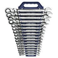 GearWrench 16 Pc Flex Combination Ratcheting Wrench Set Metric at Craftsman.com