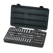 "GearWrench 57 Pc. SAE/Metric 6 Pt. Socket Set 3/8"" Drive at Sears.com"